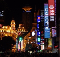 The metropolis of Shanghai The world in a city