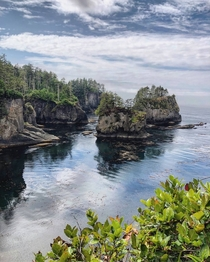 The Northwestern tip of the contiguous US Cape Flattery Washington