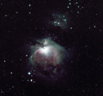 The Orion Nebula My first time shooting on a telescope