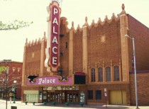 The Palace Theater in downtown Canton Ohio