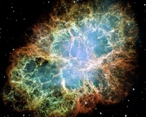 The surreal Crab Nebula