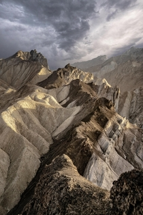 The terrain below Zabriskie Point was like a  million year old ice cream bowl with its mix of colors and ingredients  Is Death Valley on your travel list LocationDeath Valley Res