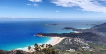 The view from the summit of Mt Oberon Wilsons Promontory Australia x