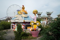 This Chinese Theme Park was Abandoned Mid-Construction in