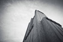 Thomas Street in Manhattan is one terrifying monolith of a building By John Carl Warnecke