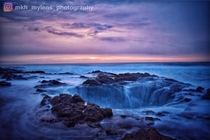 Thors Well on the coast of Oregon located at Yachats Or just beautiful