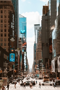 - Time Square - New York -