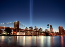 Tribute in Light 2012 by Mondayne