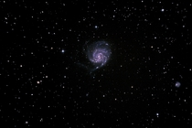 Trillion stars Pinwheel Galaxy also known as M