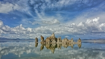 Tufas reflection at Mono Lake CA OC shot with my Note