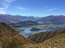 up on Roys Peak in Wanaka New Zealand during a trip I took in  Beautiful country to see if youve never visited before