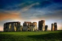 via Stonehenge by Amanda White  Redbubble