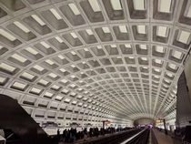 Washington DC metro stations are still gorgeous even if you get used to them