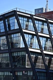 Washington St NYC a gem next to the High Line Restoration and addition by Morris Adjmi Architects
