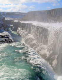 Waterfall Gullfoss Iceland Europe  Chung89