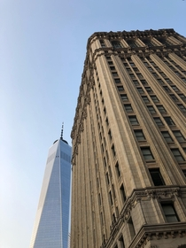 West Street is  years older than its neighbor One World Trade Center