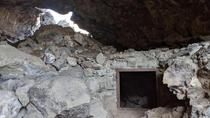 WWII air raid bunker later used as a cold war fallout shelter in a cave in Central Oregon
