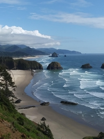 x Love At First Sight - Crescent and Cannon Beach OR with haystack rock in the background