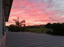 x New Zealand sky from bedroom window tonight Auckland NZ