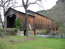 year old covered bridge Chico CA