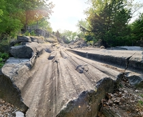 year old Glacial Grooves Kelleys Island OH OC x