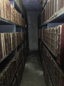 year old records sealed in a courthouse attic