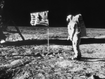 years ago today mankind landed on the moon