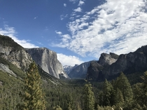 Yosemite Tunnel View x