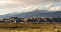 You forget what planet youre on when you drive past the Great Sand Dunes in Colorado
