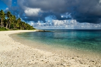 A Beach on Falalop Micronesia