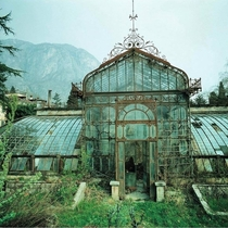 A beautiful abandoned greenhouse