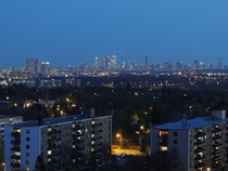 A beautiful evening to enjoy Torontos skyline