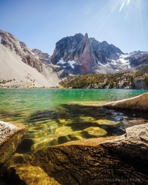 A beautiful lake in the John Muir Wilderness California USA ignatureprofessor