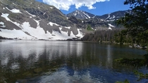 A beautiful summer afternoon at Hermit Lake CO