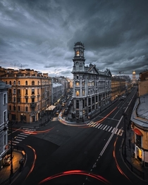 A beautiful view of the Five Corners of Saint Petersburg