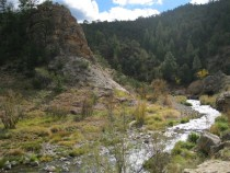A Bend in the River Jemez River New Mexico x