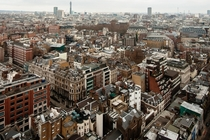 A birds eye view of Mayfair London