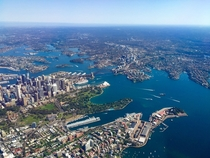 A birds eye view of Sydney Australia  Photographed by Debra Jones