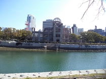 A-Bomb Dome Hiroshima Japan