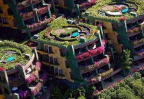 A botanical apartment complex in Thailand