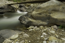 A Boulder I stumbled up on my recent rafting trip in a Himalayan valley in India