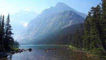 A break in the forest with spectacular reveal - Jasper National Park Alberta