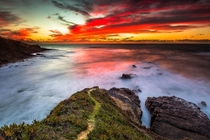 A Breathtaking sunset off the coast of Portugal Photo by Agostinho Fernandes