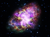 A Bright amp Colorful Look At The Crab Nebula