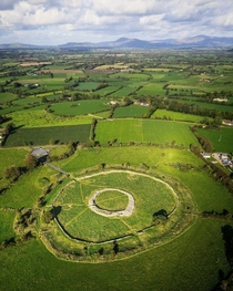 A Bronze Age hill fort in Ireland known as the Ring of the Rath