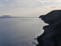 A Calm Evening at Cape Chignecto Nova Scotia on the Bay of Fundy