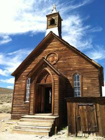 A church in Bodie CA