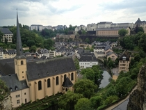 A city of layers - Luxembourg City Luxembourg