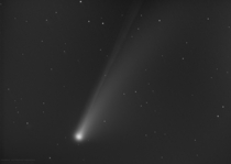 A Clean image of Comet NEOWISE C F