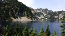 A clear day at Snow Lake - Mt Baker-Snoqualmie Ntl Forest OC